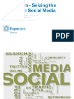Experian Hitwise - Seizing the Moment in Social Media