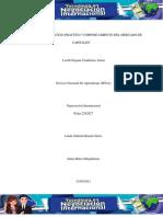 EVIDENCIA 14 EJERCICIO PRACTICO COMPORTAMIENTO DEL MERCADO DE CAPITALES