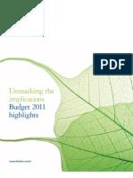 Budget Highlights 2