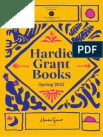 Hardie Grant 2021 Spring Catalog