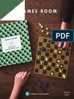 Games Room Spring 2021 Catalog