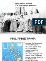 Filipino Women Workers in the Era of Globalization and Crisis