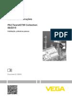 Manual de instruções. PACTware_DTM Collection 06_2015. Instalação, primeiros passos. Document ID_ 28243
