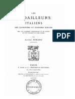 Les médailleurs italiens des quinzième et seizième siècles