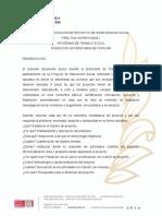 ESTRUCTURA PROYECTO DE INTERVENCIÓN SOCIAL