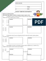 TESTE DE MATEMÁTICA 2º BIMESTRE