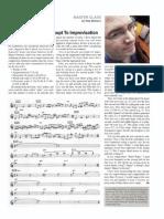 DOWNBEAT article by Pete McCann