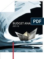 BDO Budget Analysis 2011-12