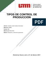 2.1.-Tipos de Control de producción