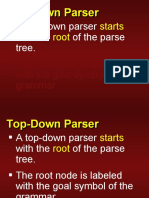 Top Down Parser - Compiler Design - Dr. D. P. Sharma - NITK Surathkal by wahid311
