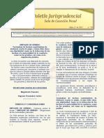 Boletin Jurisprudencial 2021-05-21