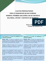 2019 05 06 V2 Seminario actos preparatorios pacto preferencia y contrato promesa, arts. code traducidos