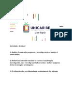 Lengua Española I (Actividad numero 2- Unidad 1)