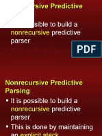 Predictive Parsing and LL(1) - Compiler Design - Dr. D. P. Sharma - NITK Surathkal by wahid311
