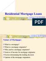 FINA361_2008_Lecture 13_Residential Mortgage Loans