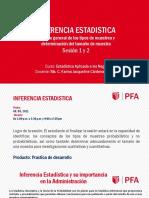 Sesion 1 y 2. Introduccion Inferencia Estadistica