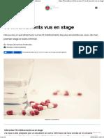 Mémoriser 10 Médicaments Vus en Stage Futur Infirmier
