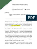 Carta Notarial - Devolucion de Inversion