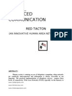 ADVANCED COMMUNICATION REDTACTON