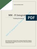 10 - MM - FI Integration