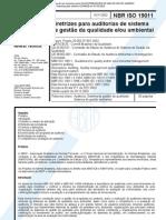 NBR ISO 19011 - 2002 - Auditoria para Gestão da Qualidade(2)