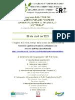 Programa Congreso Interdisciplinario