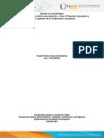 Trabajo Individual– Paso 2 Proponer El Proyecto y Aplicar La Gestión de Los Interesados Al Proyecto