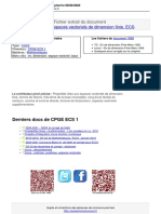 Cours Ev de Dimension Finie Doc 1069 Pinel Doc 1069 Revisermonconcours.fr