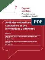 Audit Des Estimations Comptables Et Des Information y Afférentes ( PDFDrive )
