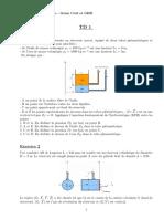 TD_Mecanique Des Fluides