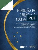 Relatrio - Migraçao de Crianças e Adolescentes - DPU-UnB