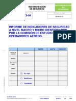 AESA - A-DEA-RSEG-04 INDICADORES DE SEGURIDAD