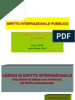 DIRITTO INTERNAZIONALE PUBBLICO