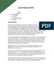 Java Input and Output