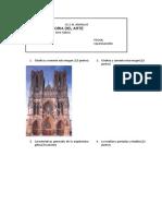Examen Gotico