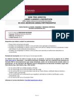2021-5-26 Segundos Llamados - Tres Arroyos - Lic. Logistica y TU Energias Renovables