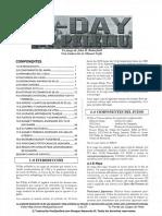 D-Day at Peleliu Reglamento Español