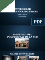 Identidad UPS Deontologia