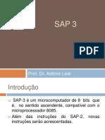 Microprocessadores Aula 17, 18, 19, 20 - SAP3