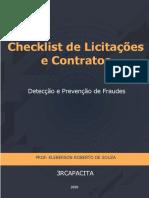 eBook Checklist - Detecção e Prevenção de Fraudes Em Licitações e Contratos