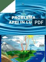 Probl apei in lume
