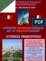 FRANCOFONIE - prezentare