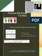 Fuerzas Eléctricas 1ro bgu