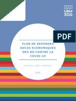 CMR Socioeconomic Response Plan 2020