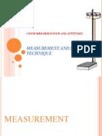 Measurement & scaling technique1