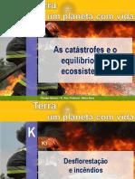 Catástrofes e o equilibrio do ecossistema _K