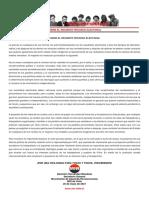 25mayo2021 - Sobre El Reciente Proceso Electoral