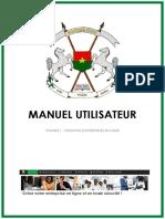 Manuel d'Utilisateur CREATION EN LIGNE