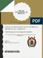Fallas Geológicas en Morelia