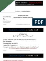 Du Résultat Comptable Au Résultat Fiscal(1)